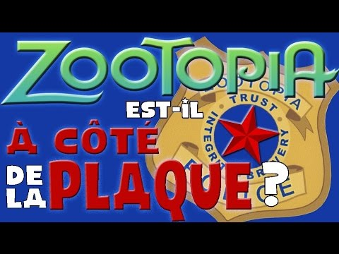 [HS] Zootopia est-il à côté de la plaque ?