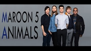"Maroon5 -  ""Animals"" by DCCM (Punk Goes Pop) Screamo Cover Metal"