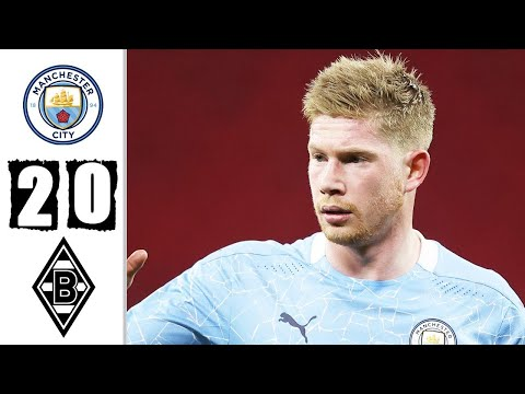 🔥 Манчестер Сити - Боруссия Менхенгладбах 2-0 Обзор Матча 1/8 Финала Лиги Чемпионов 16/03/2021 HD 🔥