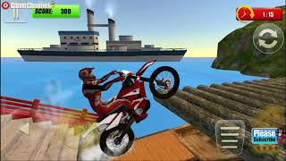 Extreme Bike Trial 2016 / Motor Bike Games / Android Gameplay Video #2