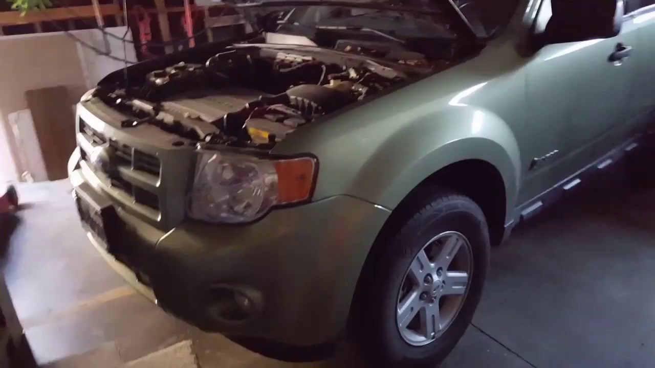 Escape Hybrid Ac Compressor Replacement 2009 Ford Escape Youtube