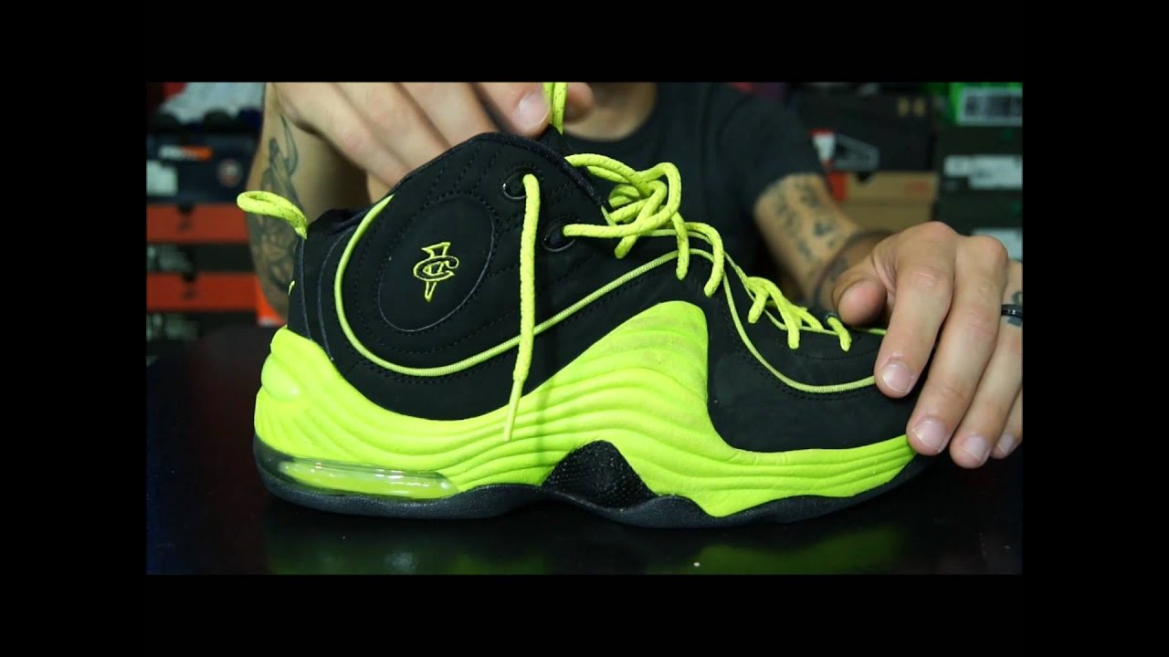 c08418dec77 Air Penny Project - Nike Air Penny II (2) Performance Review - YouTube