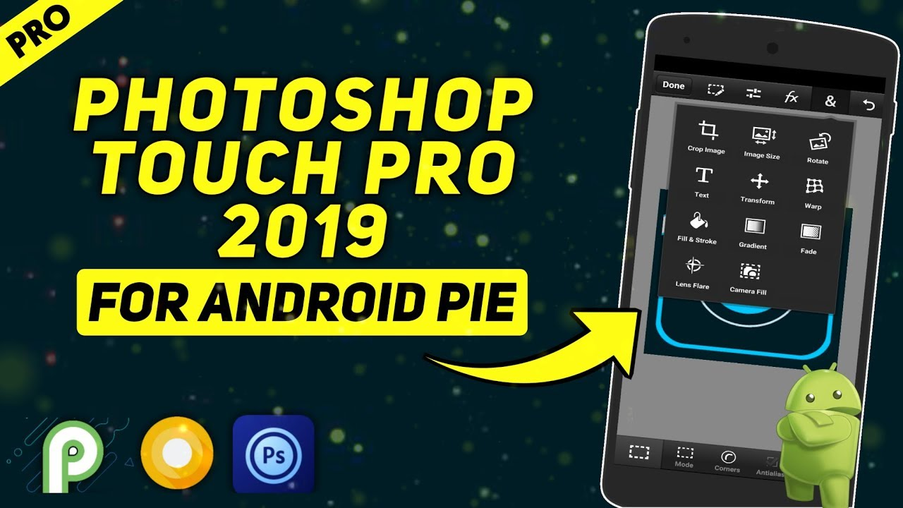 Photoshop Touch For Android 9 Pie | Photoshop Touch Latest Apk 2019