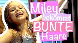 Miley bekommt BUNTE HAARE !! 😱💥