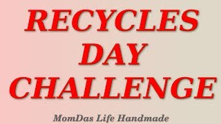 National America Recycles Day Challenge / Recycle Ideas for Home