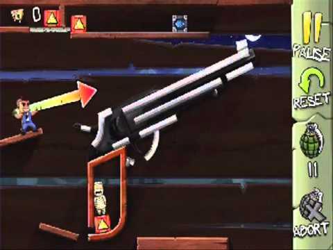 Fragger Monster Dash Level 23 - Solution Walkthrough