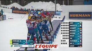 Le résumé vidéo de la mass-start - Biathlon - CM (H)