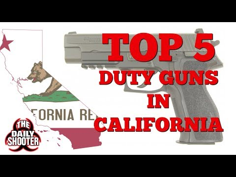 Top 5 Duty Handguns in California