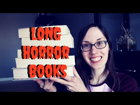 Long Horror Books to Read | #horrorbooks #socialdistancing #selfisolation