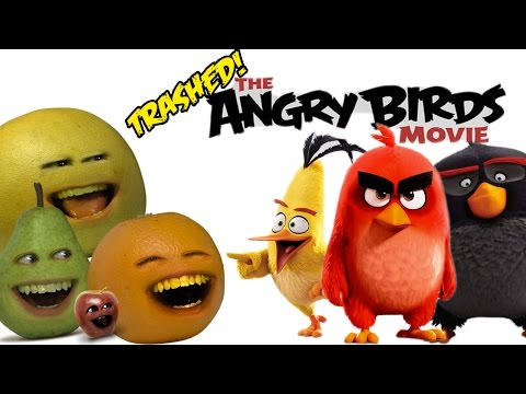 Annoying Orange - THE ANGRY BIRDS MOVIE: TRAILER Trashed!!