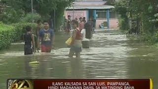 24 Oras: Mahigit 3,000 pamilya, apektado ng baha sa Candaba, Pampanga