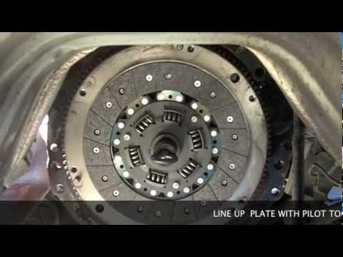 Replacing The Clutch In a Toyota 2 of 2  YouTube