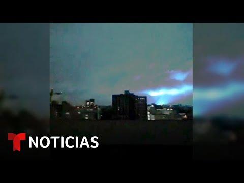 ¿Qué son las luces que se vieron durante el sismo de México? | Noticias Telemundo