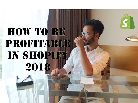 HOW to Be PROFITABLE IN Shopify Dropshipping   Dropshipping  for Beginners in 2018!