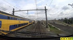 A train driver's view: Eindhoven - Amsterdam CS, VIRM, 25-May-2019.