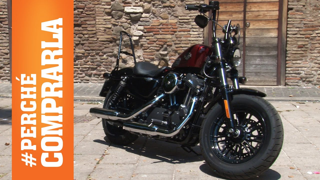 Harley-Davidson Sportster Forty-Eight 2016: Perché