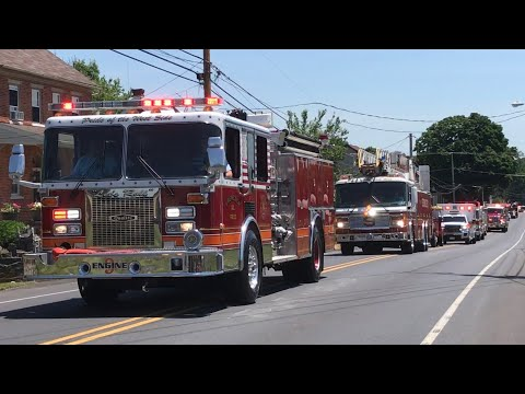 Lebanon County Firefighters Parade 2018