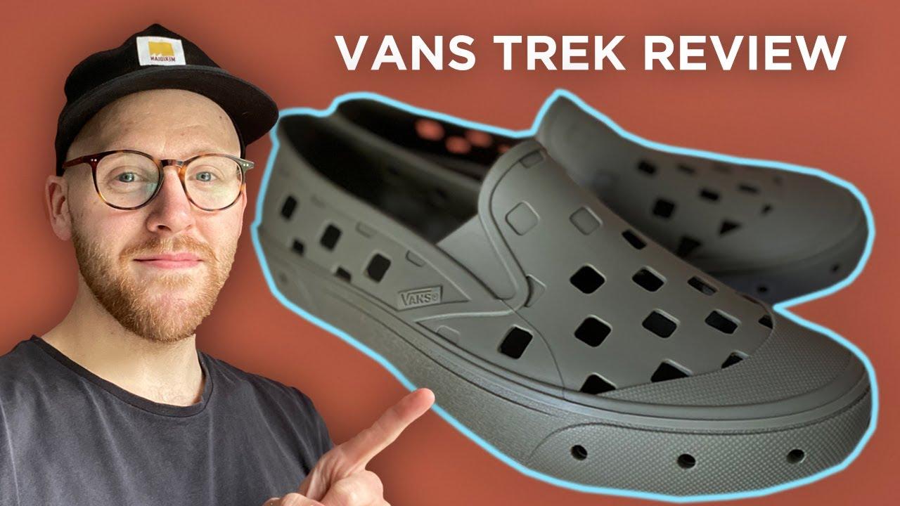 Vans Trek Slip-On Review (Grape Leaf) - Vans CROCS