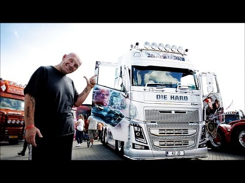 """Volvo Trucks - The Hollywood blockbuster of a truck to die (hard) for! - """"Welcome to my cab – light"""""""