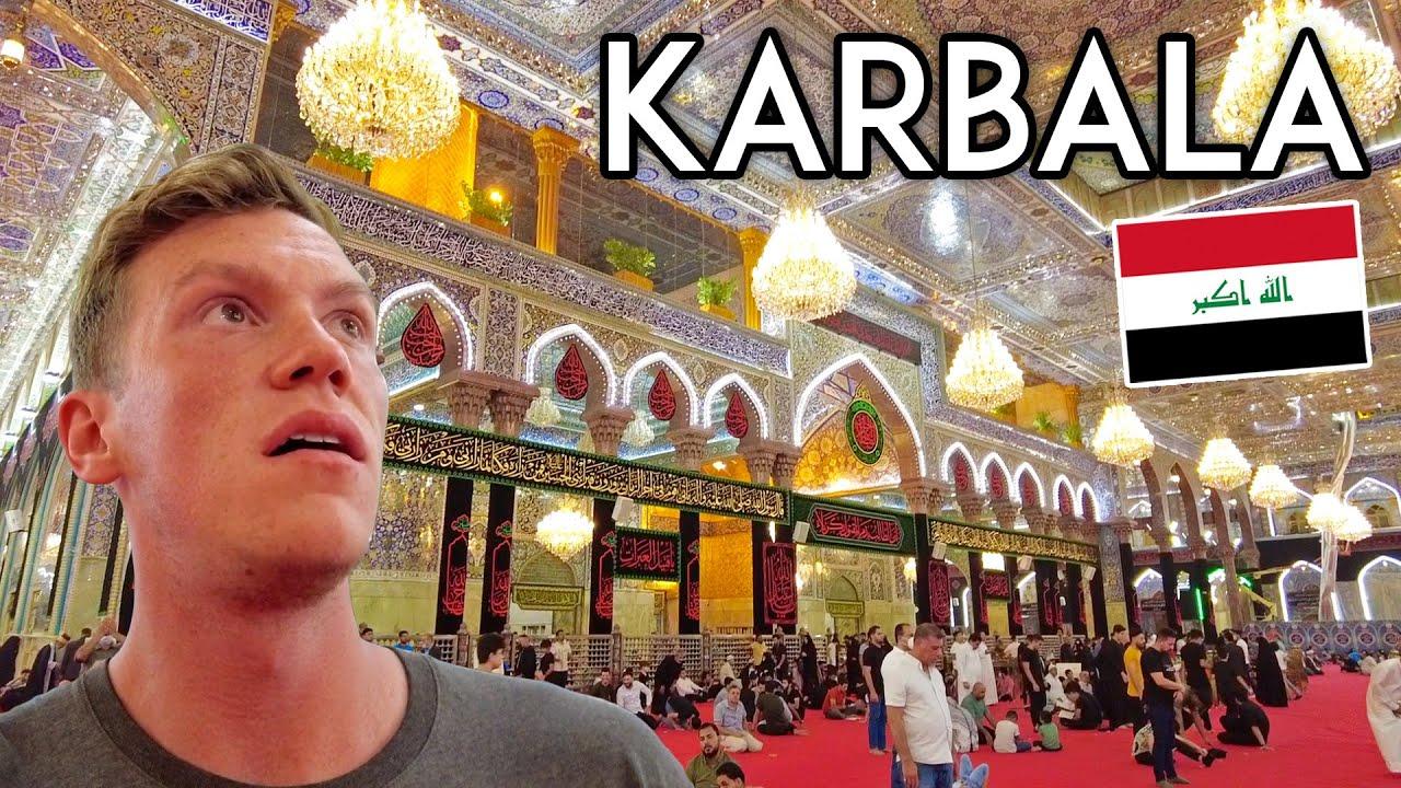 First Impressions of KARBALA, IRAQ! American in Iraq Travel Vlogامريكي في رحلة إلى كربلاء ، العراق