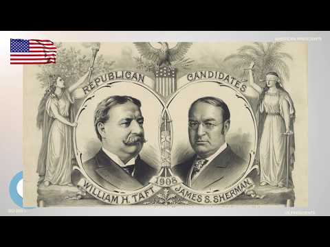 William Howard Taft - The 27th President of the United States - ETYNTK ❤️👤🔊✅