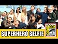 Stan Lee S Superhero ic Con Selfie With Gambit X ...