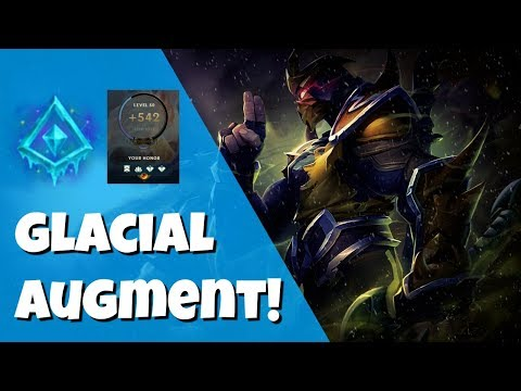 SHEN SUPPORT WITH GLACIAL AUGMENT! LEAGUE OF LEGENDS SEASON 8!
