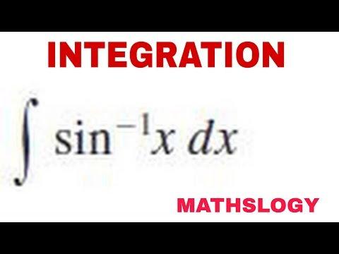 Sin Inverse X Ka Integration In Hindi @mathslogy