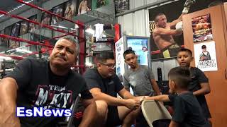 Robert Garcia Reaction To Gervonta Tank Davis vs Abner Mares EsNews Boxing