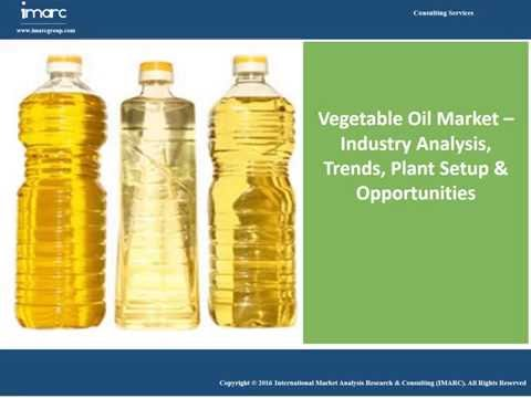 Vegetable Oil Market Trends, Industry Analysis, Share, Size & Opportunities