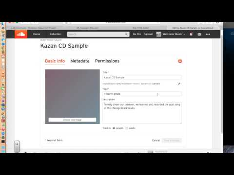 Embedding tracks on your website with Soundcloud