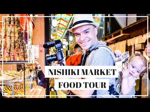 Kyoto Japan FOOD TOUR at the Nishiki Market