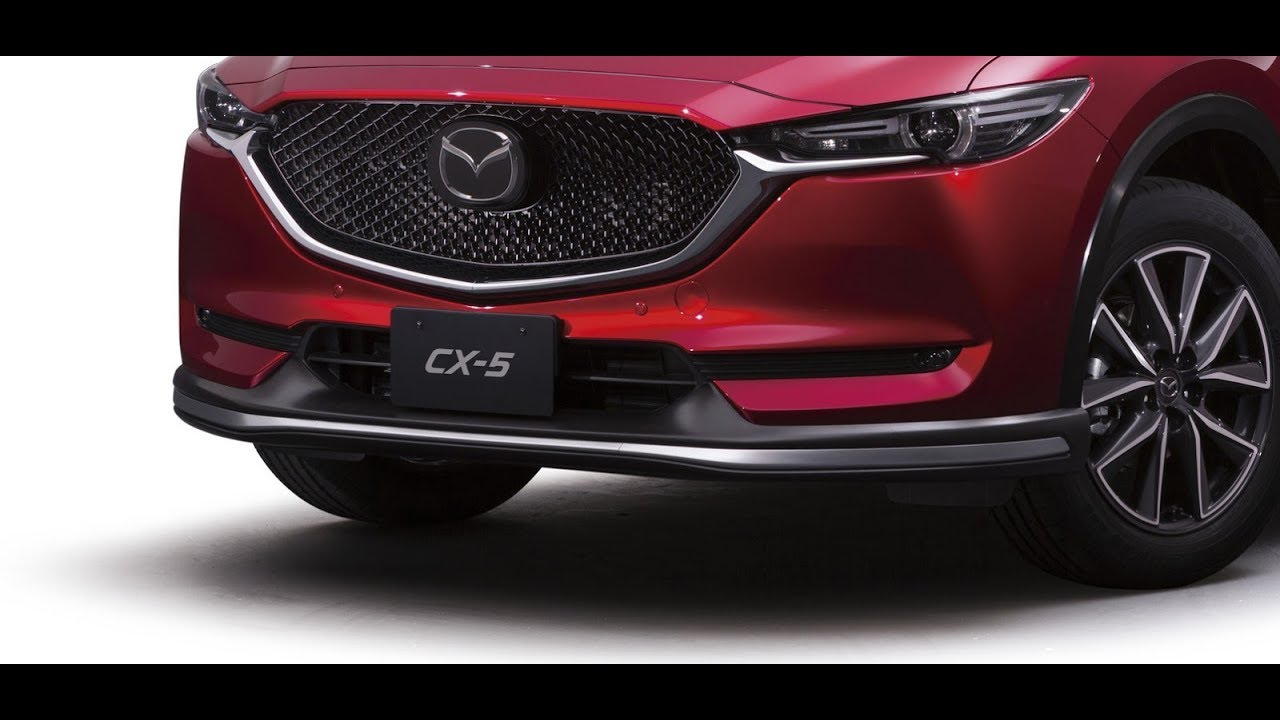 2017 Mazda Cx 5 Accessory Pack Youtube