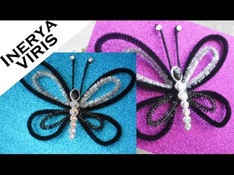 Como hacer mariposas para decorar adornos fantas a disfraces tutorial inerya viris youtube - Mariposas para decorar ...
