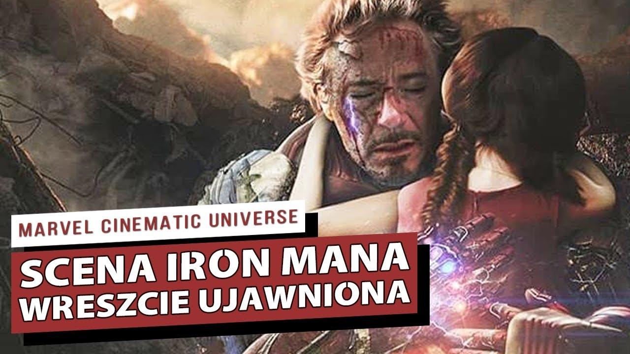 Niesamowita Scena Iron Mana po Śmierci w AVENGERS ENDGAME UJAWNIONA! ANALIZA SCENY!