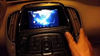 Buick lacrosse navigation tablet install part 4