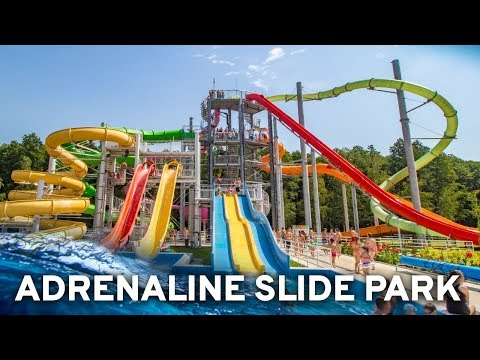 All Water Slides at Adrenaline Waterpark Zalakaros, Hungary! (GoPro POV)