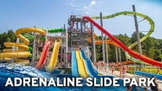 All Water Slides at Adrenaline Waterpark Zalakaros, Hungary! (GoPro POV)