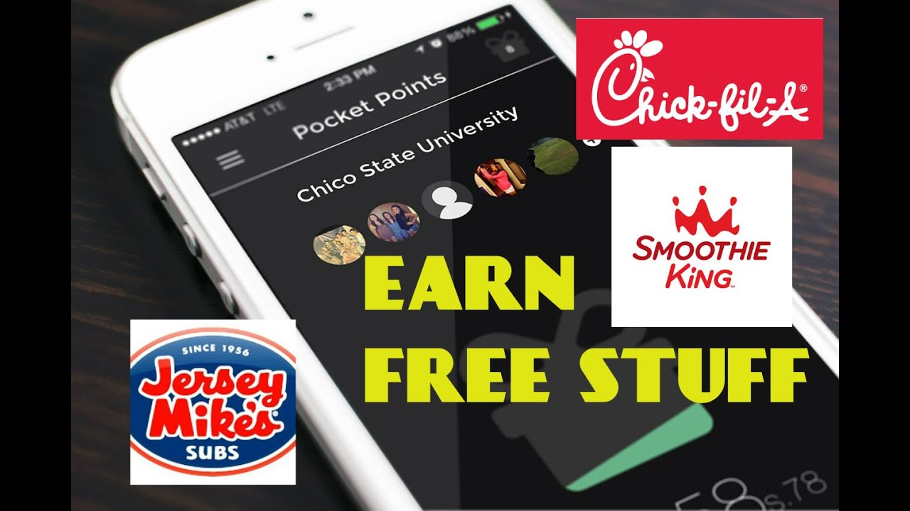 Pocket Points App Review - Earn Free Stuff While Going To Class
