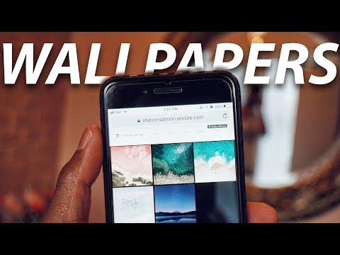 How To Download NEW iOS Wallpapers