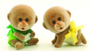 Учим животных. Как живут обезьяны? Киндер Зу