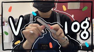 vlog))네일샵일상 /캐릭터네일하는법/디즈니네일/네일…