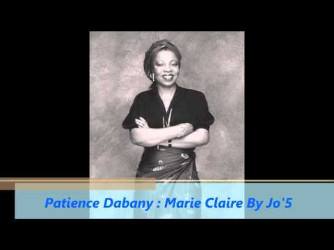 Patience Dabany : Marie Claire
