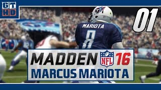 Madden NFL 16 Let's Play Spielerkarriere [Deutsch/60FPS] #01 It's Madden Season!