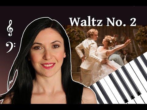 #Waltz No. 2  Dmitri #Shostakovich (Suite for Jazz Orchestra No. 2) Piano easy version & Sheet music
