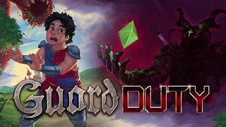 Guard Duty Official Trailer - Pixel Art Graphic Adventure Game