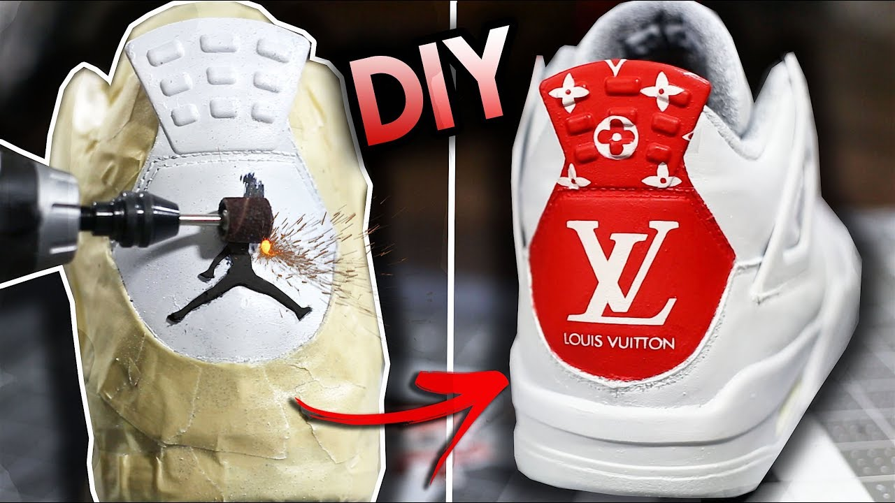 7e8a260b70c3c6 HOW TO  SAND AWAY YOUR JUMPMAN AND CUSTOMIZE A JORDAN BACK TAB ...