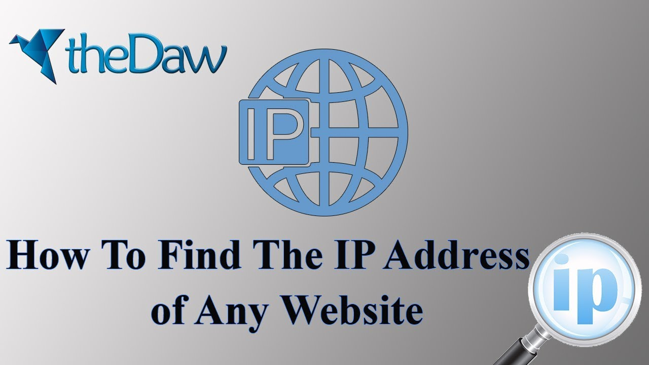 How to Find the IP Address of Any Website | Ethical Hacking | theDaw