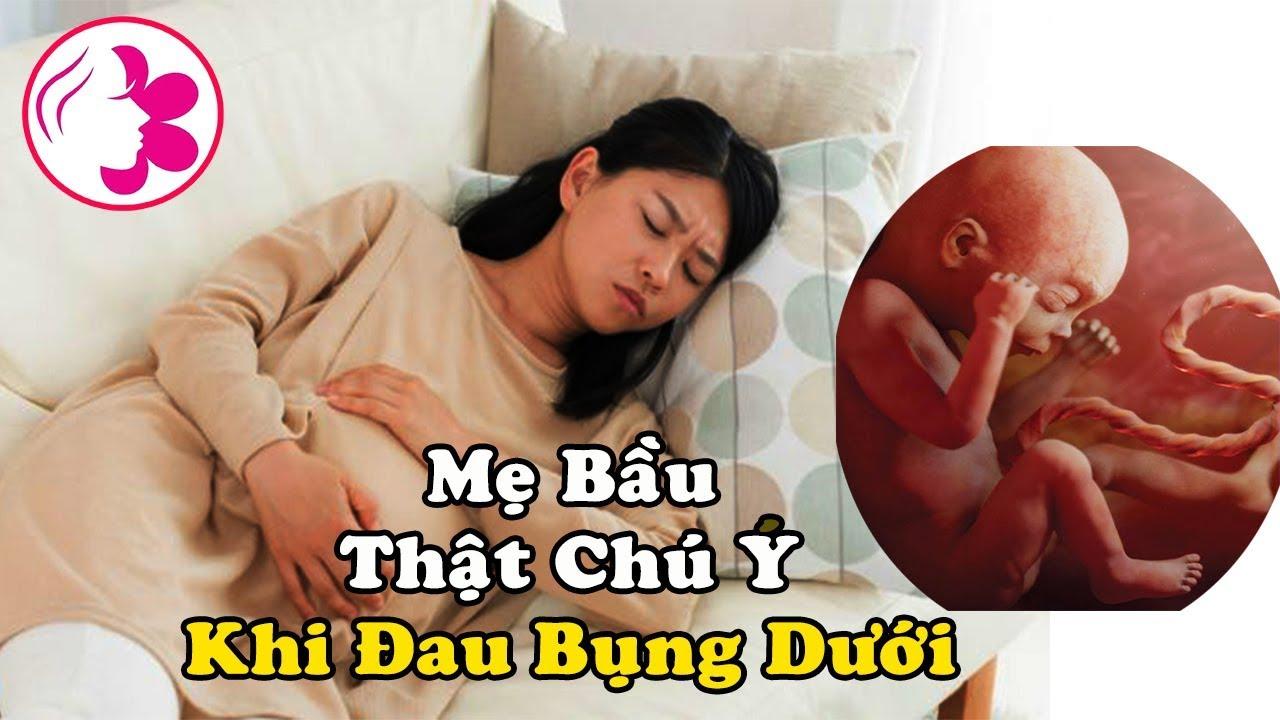 Mẹ Bầu Bị Đau Bụng Dưới, Cần ĐẶC BIỆT CHÚ Ý Nếu Không Sẽ Rất Nghiêm Trọng, Dị Tật Thai Nhi