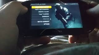 Ps vita call of duty black ops declassified multiplayer team deathmatch 2018